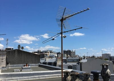 antenne hertzienne avant rénovation