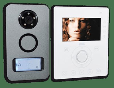 interphone vidéo et écran déporté