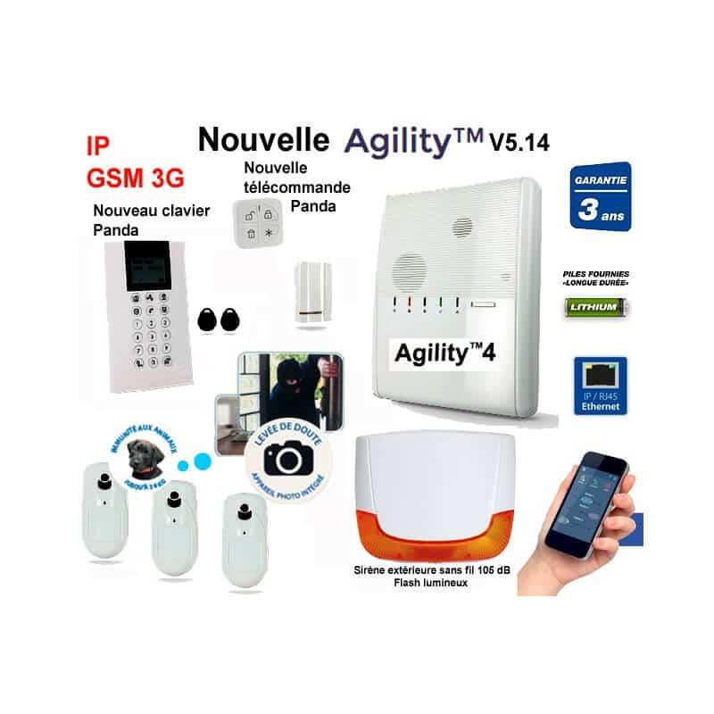 nouveau pack alarme  Agility