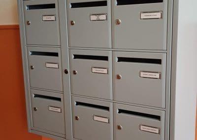 boites aux lettres rénovés