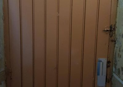 porte avec accès rénové