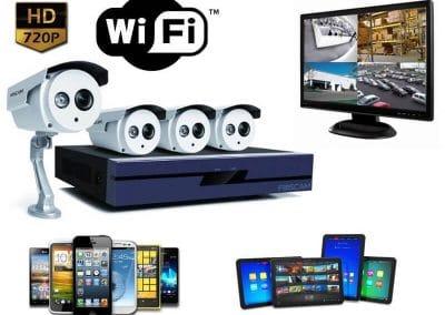 présentation kit complet de vidéosurveillance